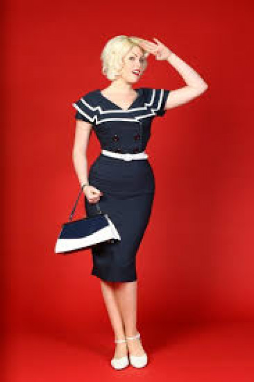 Dress @ Pinupgirlclothing.com