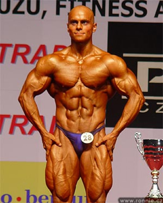 A world-class bodybuilder.