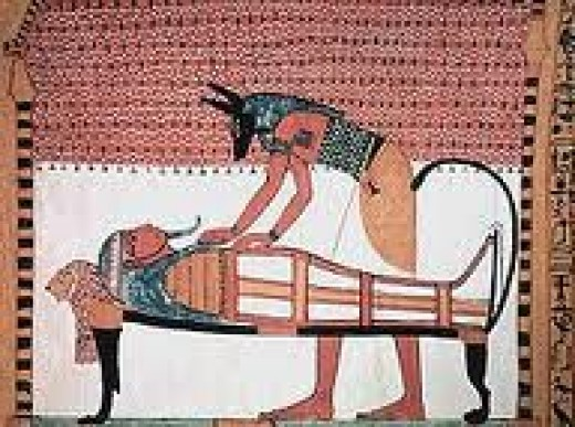 Here are some Egyptian rituals to prepare the bodies after death. Since the ancient Egyptians believed that there was an afterlife.