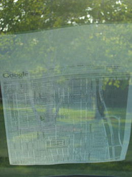 Virtual Display Map.