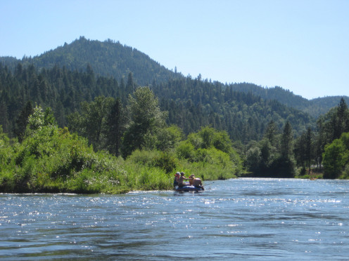 Rogue River, between Shady Cove & Prospect