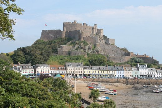 Mont Orgeuil Castle, Jersey Island, England