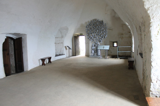 The Great Hall, Mont Orgeuil Castle, Jersey
