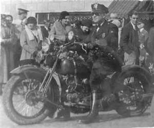 Period Photo of Waterloo Iowa Police