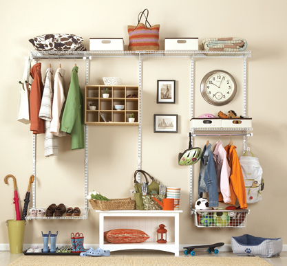 There are so many creative ways to organize small closet spaces.