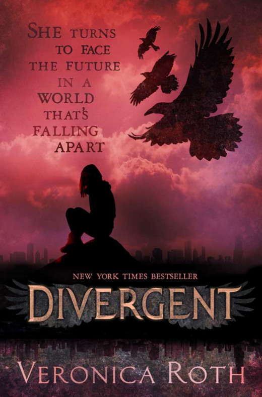 The UK Cover for Divergent.