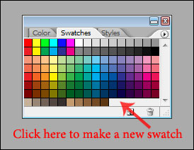 Creating a New Swatch