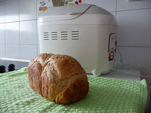 Use the Expressbake feature to make this frugal white bread machine recipe.