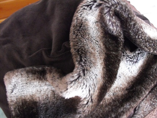 A soft comfy throw is great during cold winter days and evenings...thanks Kaarina!