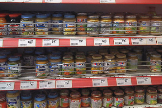 Look at the cost of baby food.