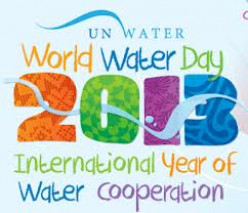 Today is the 'International Water day', What are you going to do today to save the water?