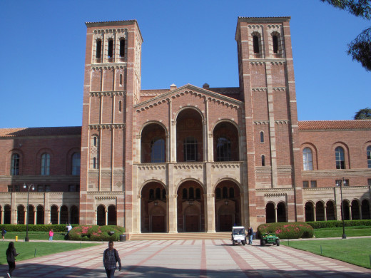 UCLA Royce Hall.