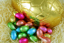 Eggs don't need to be big to make a Fun Easter Egg Hunt!