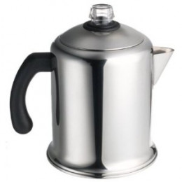 This is exactly the kind of stainless steel coffee pot I have, and it actually costs a little less today than it did 10 years ago!
