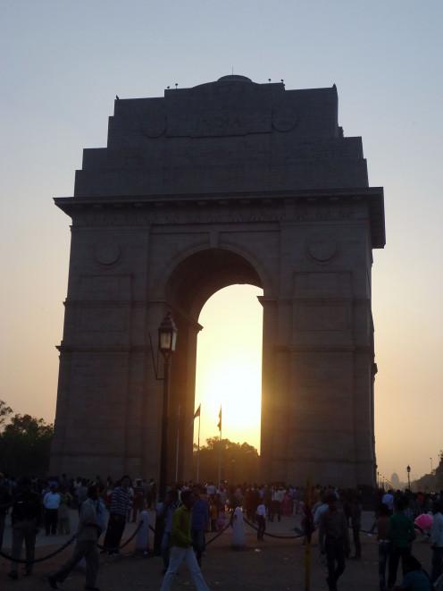 Cosas que hacer en Nueva Delhi: Puerta de la India en el Sunset