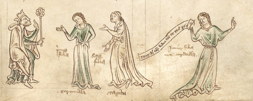 King Leir & His Daughters