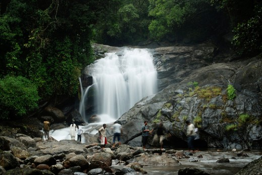 Lakkom waterfalls