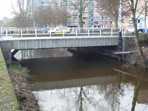 The Dommel at Kanaalstraat in Eindhoven