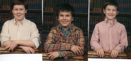 Jeremy, Benjamin, Christopher Sedalia Park Elementary