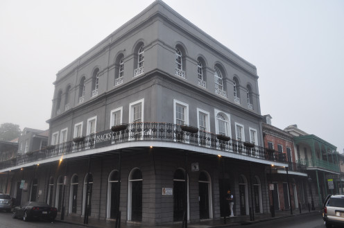 The infamous Madame Lalaurie Mansion- where slaves were tortured and killed by a lady everyone had believed beyond reproach...