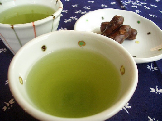 Green tea  緑茶