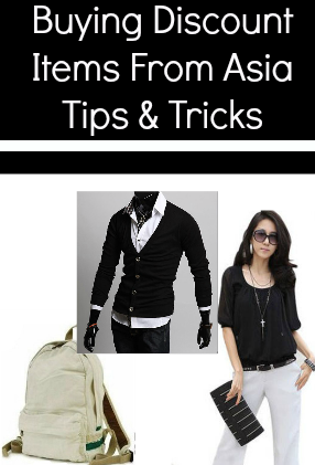 Tips for buying direct from China and wholesale online.