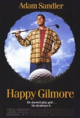 Adam Sandler in and as Happy Gilmore