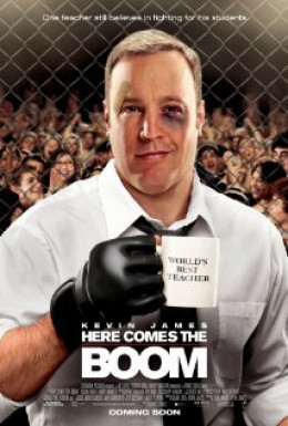 Kevin James and Salma Hayek in Here Comes the Boom