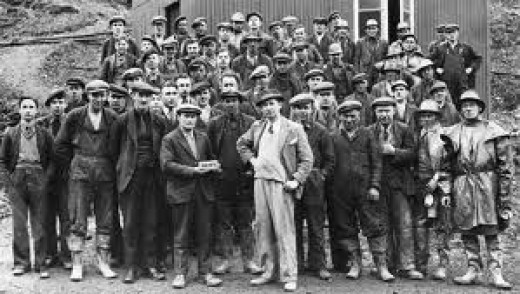 Miners back in the 1930s
