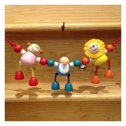 Cheeky Rascals Wooden Pram Chain