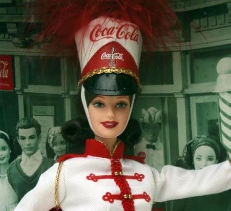 Coca Cola Drum Majorette Barbie Doll