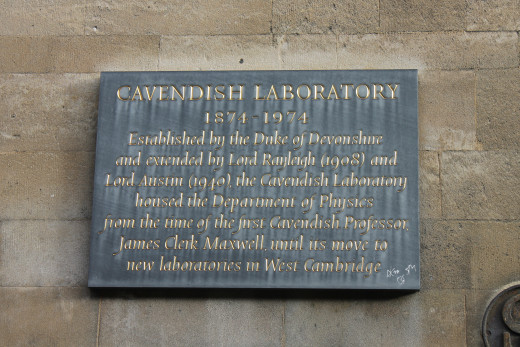 Cavendish Laboratory, Cambridge. Location of the discovery of the DNA double helix.