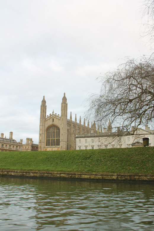 Kings College Chapel, Cambridge, UK.