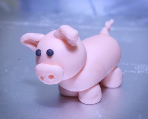 Isn't this just the cutest pig.