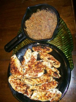 Oven Roasted Chicken & Seasoned brown Rice