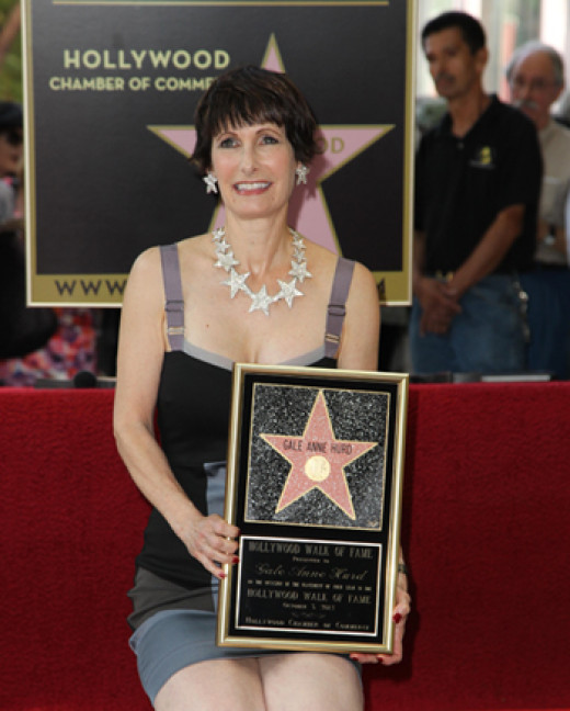 Gale Anne Hurd receives her star on the Hollywood Walk of Fame.
