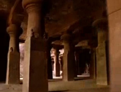 Elephanta Caves Interior view