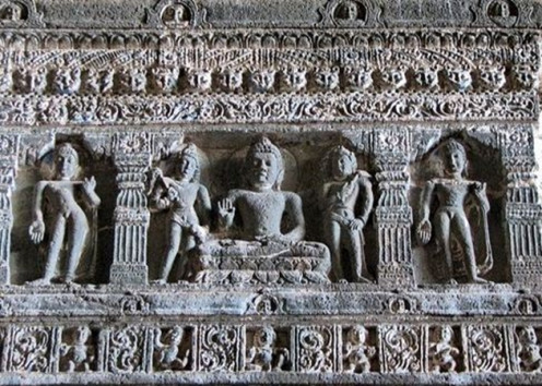 Ajanta Caves Sculptures