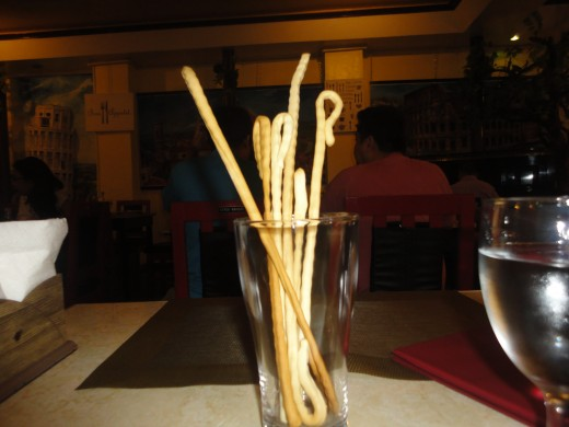 Bread stick as starter