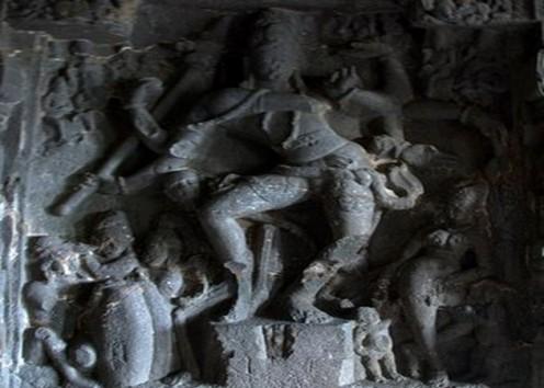 Ellora Caves Dancing Nataraj