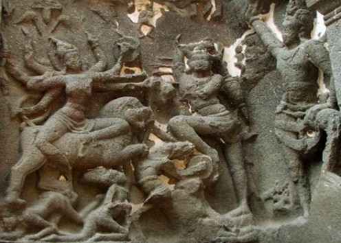 Ellora Caves Sculptures