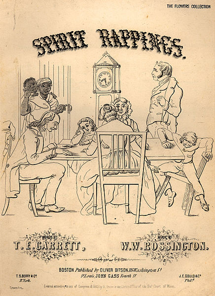Cover Sheet to Song called Spirit Rapping circa 1800s
