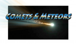 As comets and meteors become more common it awakens humanity to the world outside our own planet.