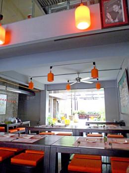 Dining room at Pum
