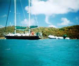 Charter the Erin Go Bragh III; located in Puerto Del Rey Marina, Fajardo.