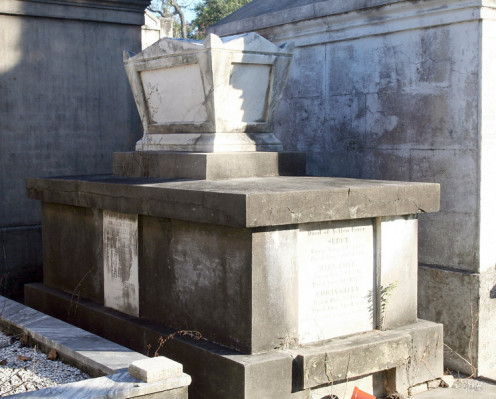 Ferguson Tomb in Lafayette No. 1, in New Orleans' Garden District