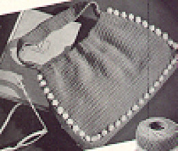 Vintage Purse Pattern, available at Barbs Free Crochet Patterns