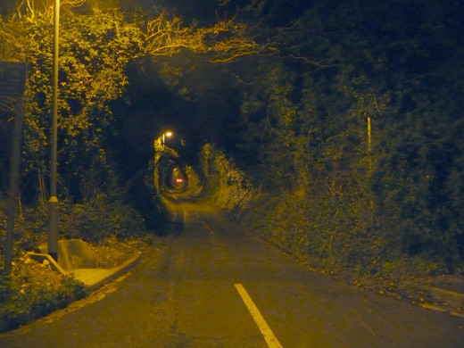 Dark lonely roads are often the location for having paranormal encounters with ghostly hitchhikers and other entities.