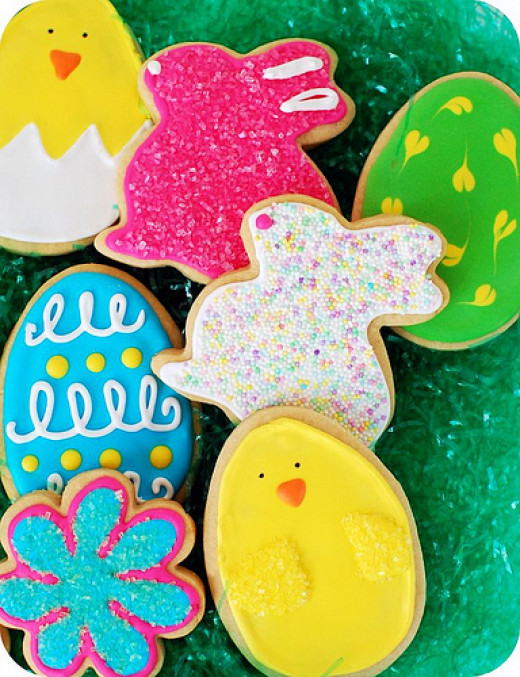 Easter Cookie Cut outs