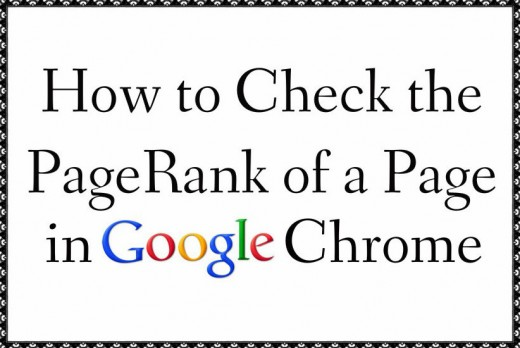 How to check a websites PageRank